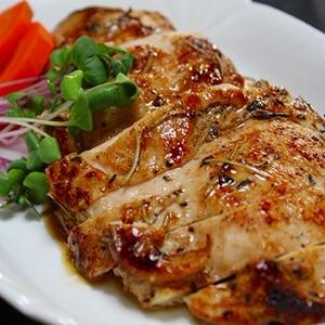 鶏のローズマリー焼き