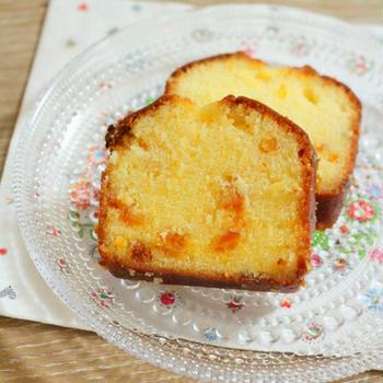 マンダリンオレンジのパウンドケーキ♪