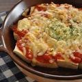 【休日の簡単ごはん】手間いらず!材料はたった3つ!豆腐とトマトソースのチーズ焼き
