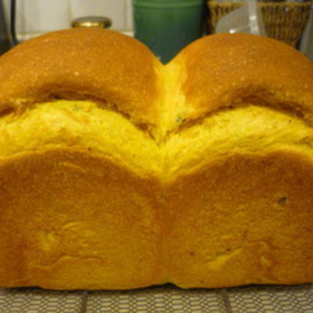 かぼちゃ山食パン♪