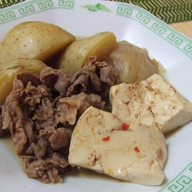 中華風◇肉じゃが豆腐