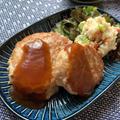 ふわふわ♡豆腐と豚ひき肉の和風ハンバーグ