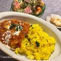 【おうちごはん】暑い日はスパイシーなインド風カレー!簡単コクだしのコツ&超簡単ドレッシングレシピ♪