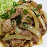 豚こまと玉ねぎのスタミナ炒め<ご飯にぴったり♪>
