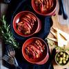 豚バラとりんごのスパイスガーリックソテー