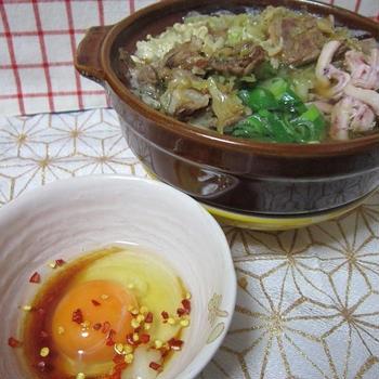 石頭鍋風のキャベツ鍋