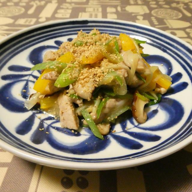 豚肉と新生姜の炒め物