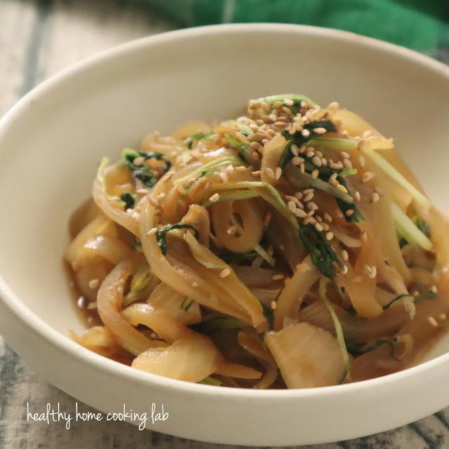 【レシピ】しらすで旨味アップ!水菜の炒め物