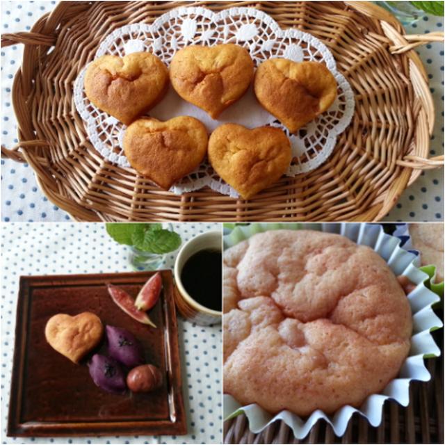 今朝はこの季節の絶品スイーツ紹介しま~す♡熟柿のしっとりカップケーキです(///ω///)♪