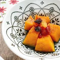 【レンジで簡単おやつ】かぼちゃのシナモンバター