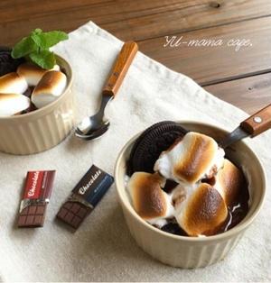 トースターde簡単♡生チョコマシュマログラタン