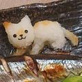 #食欲の秋大好きな秋刀魚を焼きました。#大根おろしアート#猫ちゃん #焼き秋刀魚 ... by とまとママさん