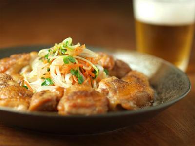 鶏の中華風甘酢炒め