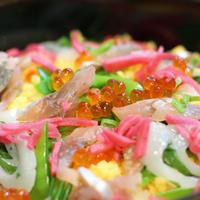 みんな大好き!海鮮ちらし寿司