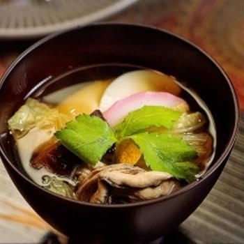 広島のお雑煮 牡蠣雑煮
