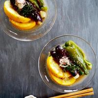 【ボーソー米油部レシピ】夏野菜 de レンジ煮浸し。。。