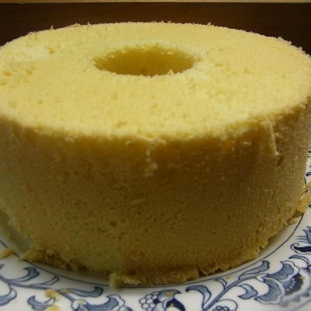 米粉のシフォンケーキ三度目の成功