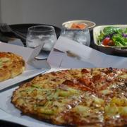 たまには!宅配ピザで晩ごはん♪