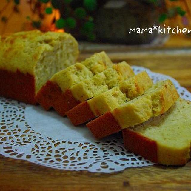 ノンオイル!!バナナとそば粉のケーキ*