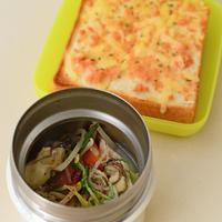 12月4日 日曜日 牡蠣と豚のしゃぶしゃぶ&明太チーズトースト