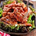 ♡鶏むね肉de黒こしょうだれチキン♡【#簡単レシピ#時短#節約#揚げない#お弁当】