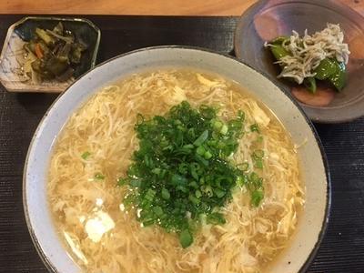 玉子とじにゅう麺