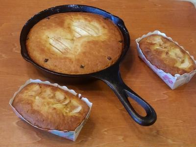 あま~い香りのクローブとりんごのお手軽ケーキ