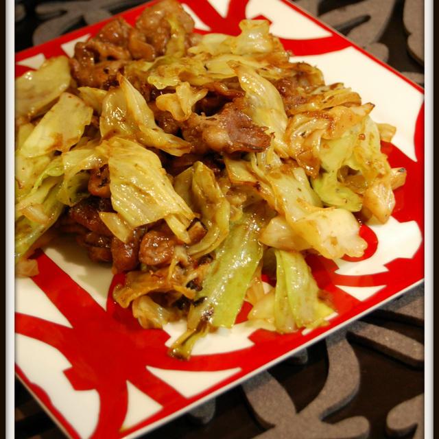 豚バラ肉とキャベツで♪回鍋肉【レシピ】