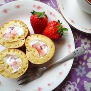 玉子焼きフライパンdeホットケーキミックスのロールケーキ♪