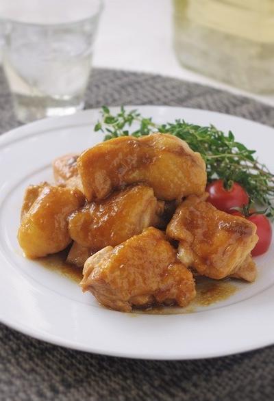 梅ジャム活用!鶏肉の梅ジャム煮込み、と「クックパッドのカレーレシピ」掲載