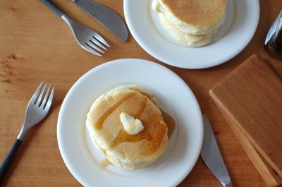 ■ 卵白泡立てパンケーキ・7