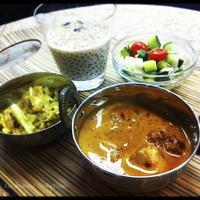 銀座ナイルレストラン直伝 : 『簡単で本格派☆南インドカレーディナー』