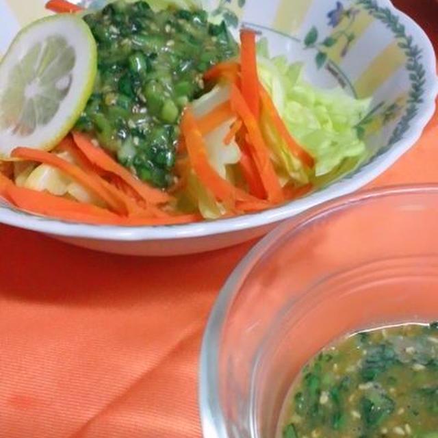 小松菜のソース