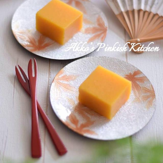 【和風のおもてなし】柿ようかん 家庭で作る甘さ控えめの秋の和スイーツ