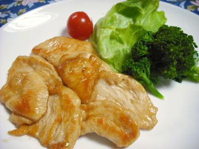 鶏むね肉の甘酢焼き