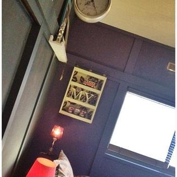 DIYインテリア【寝室飾り棚】