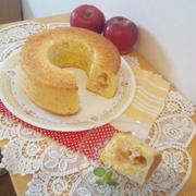 シフォンケーキ ~りんご~