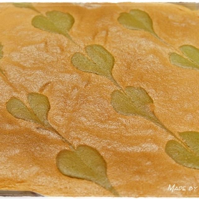 ハートマークがかわいいスポンジケーキの作り方