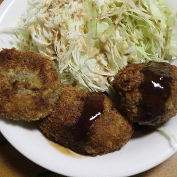 "Today's cooking""メンチカツ"""