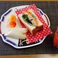 たれ漬け鶏チャーシュートーストサンドイッチ♪~♪ by みなづきさん