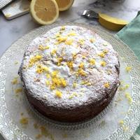 軽くてさわやか~♪イタリアのレモンケーキ