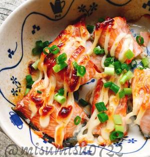 生鮭のマヨネーズ焼き