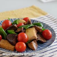 夏野菜の炒め物 優秀フライパンの割引クーポンあります!
