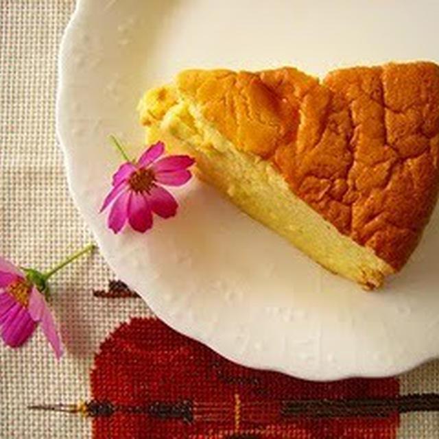 サワークリーム入りチーズケーキ