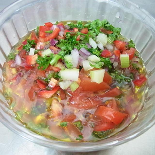 ソース レシピ サルサ