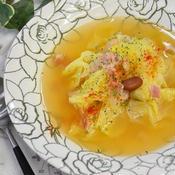 春野菜のコンソメスープ