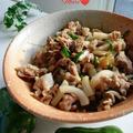 《レシピ有》収穫したピーマンで豚肉レンチン、グミ。