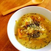 朝活♡スパイス野菜スープ