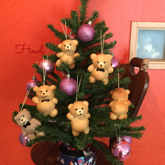テッドなクリスマスツリー☆