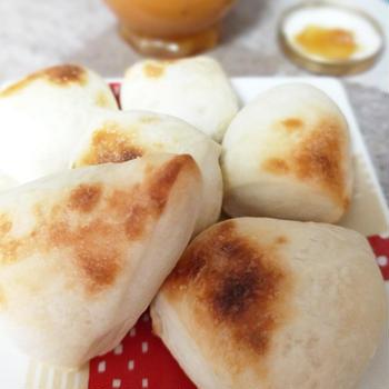 作り置きパンで朝食パン